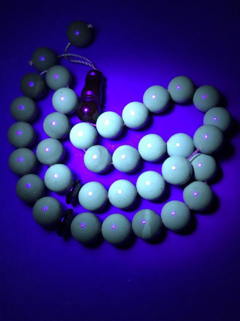 Misbaha tesbih Baltic amber cherry 33 beads ø11.5mm - 6