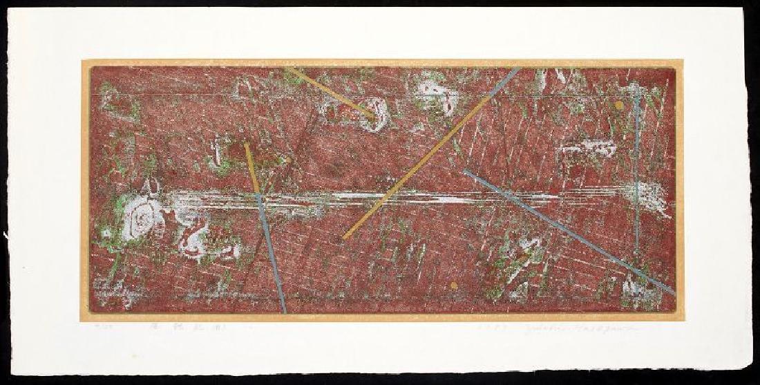 Yuichi Hasegawa Japanese Woodblock Print Record