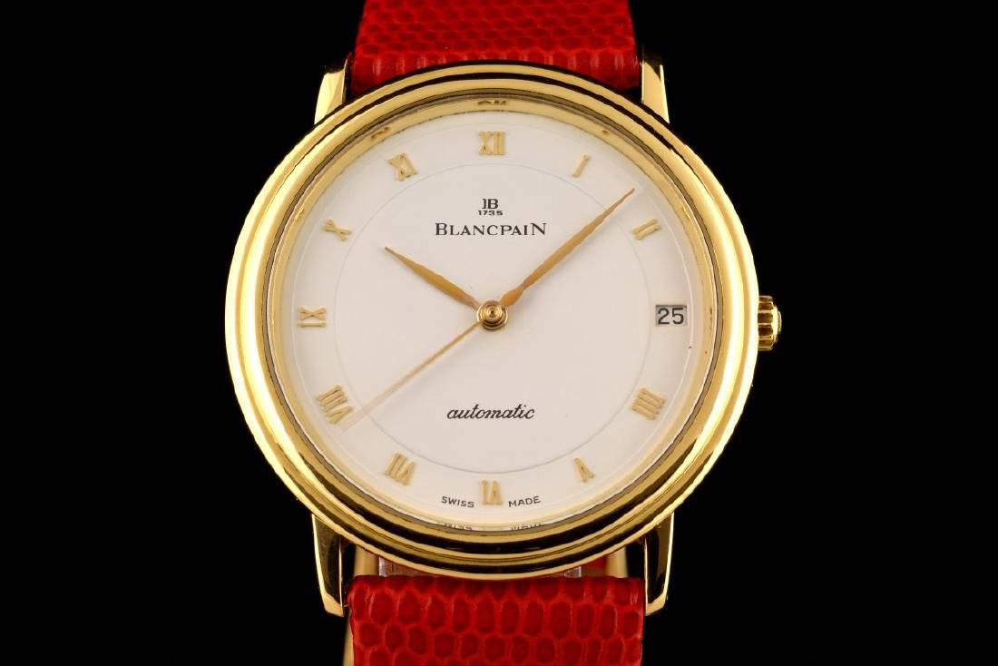 Excellent Blancpain Ultra Slim Automatic Gold - 18K