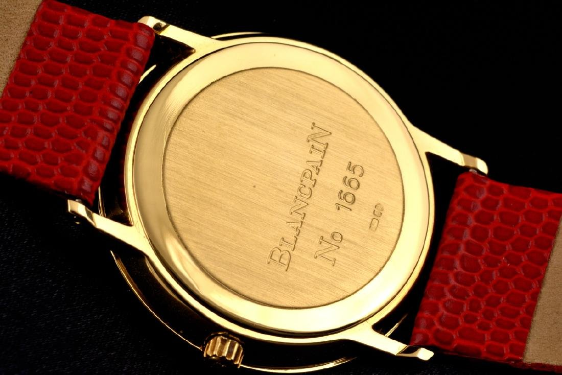 Excellent Blancpain Ultra Slim Automatic Gold - 18K - 4