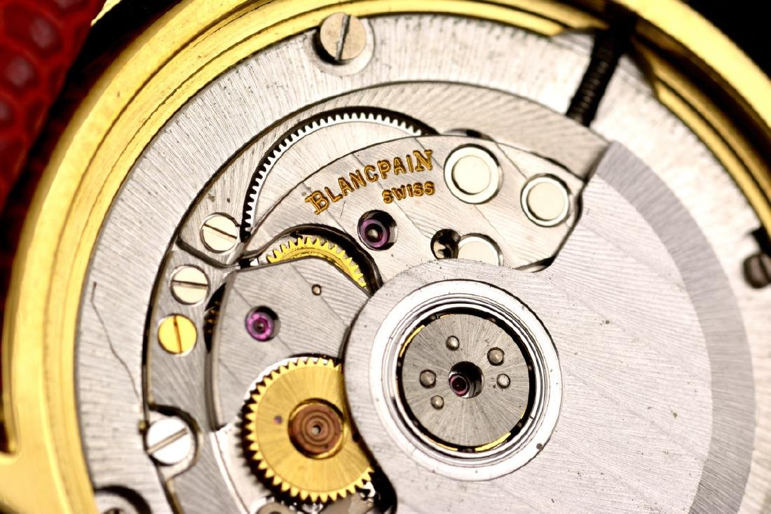 Excellent Blancpain Ultra Slim Automatic Gold - 18K - 9