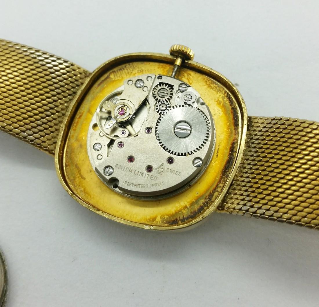 1950s Amida Swiss vintage wristwatch - 10