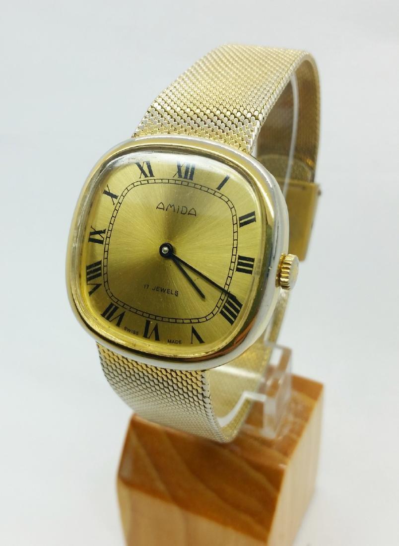 1950s Amida Swiss vintage wristwatch - 2