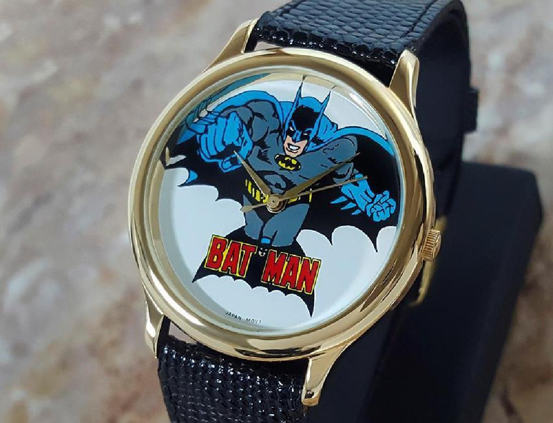 Batman Original Collectible 1989 DC Comics Mens Quartz