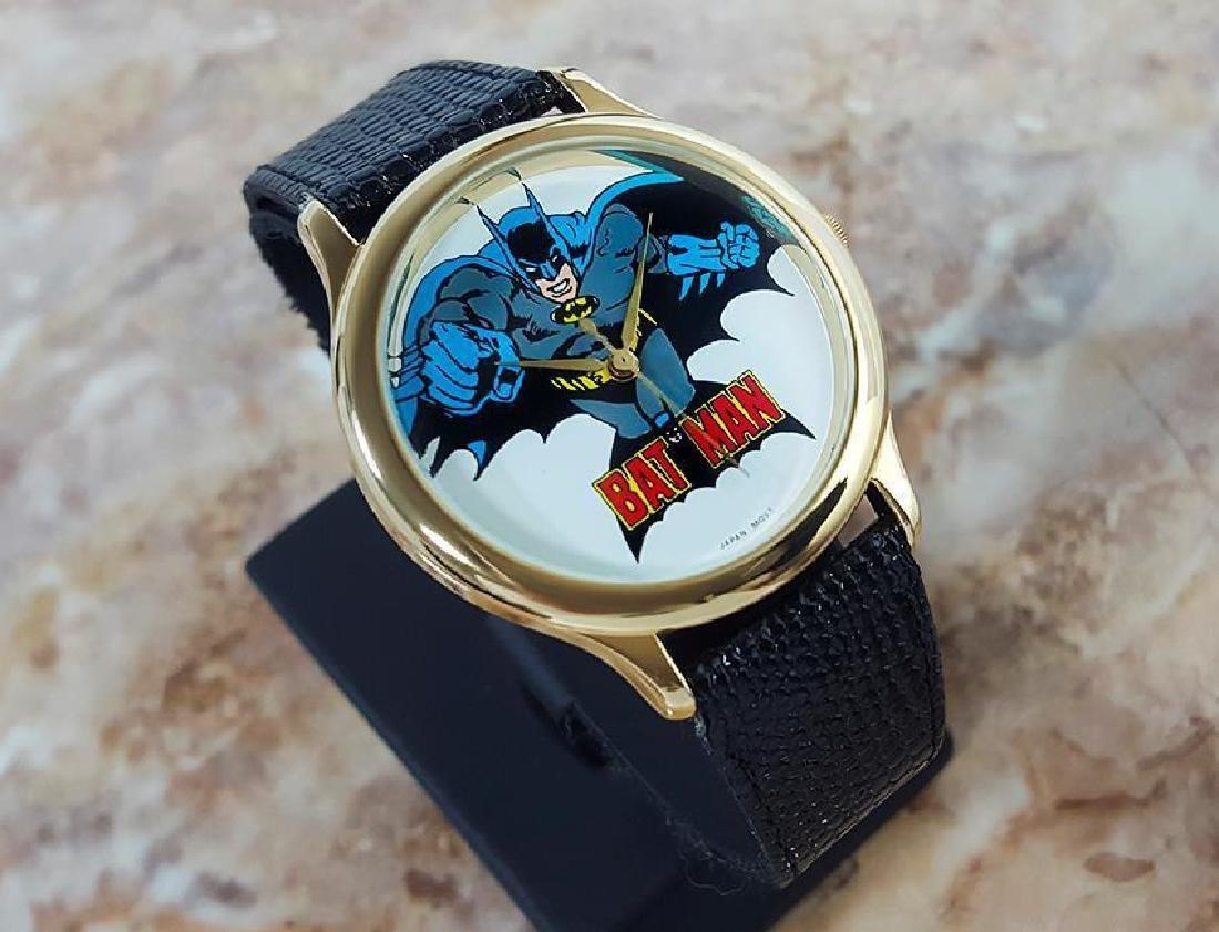Batman Original Collectible 1989 DC Comics Mens Quartz - 2