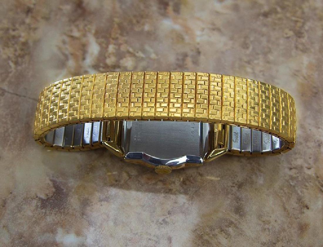 Benrus 1940s Swiss Made Gold Plated Unisex Ladies - 7