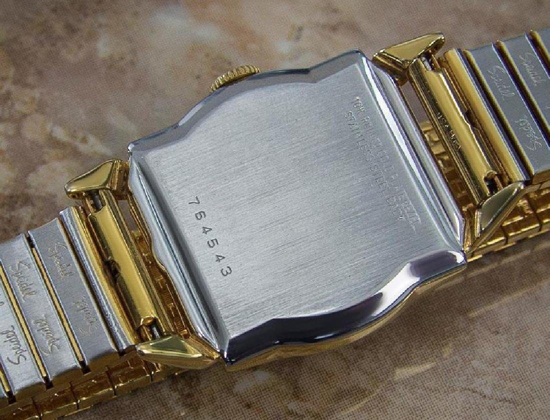Benrus 1940s Swiss Made Gold Plated Unisex Ladies - 8