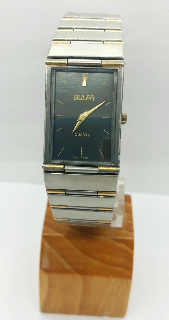 Buler - elegant wristwatch - 7304M - Women - 2000s
