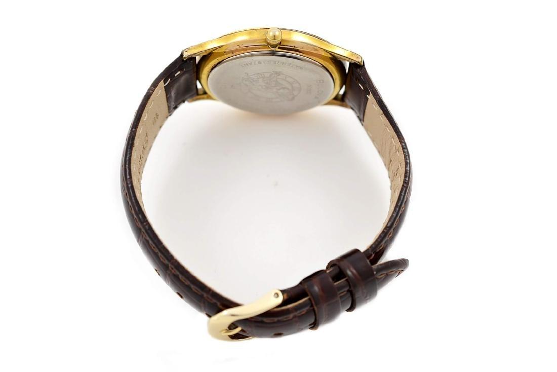 Vintage Bulova Classic Gold Plated Midsize Quartz Watch - 5