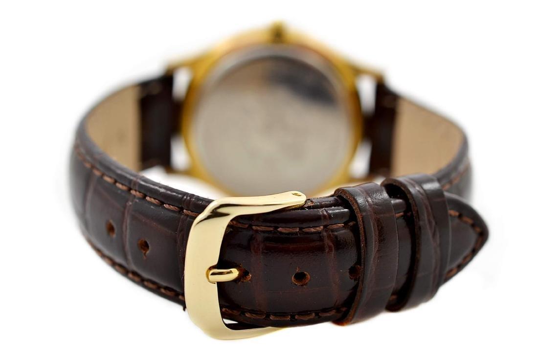 Vintage Bulova Classic Gold Plated Midsize Quartz Watch - 6