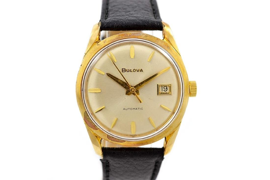 Bulova Classic Automatic Midsize Gold Plated Watch