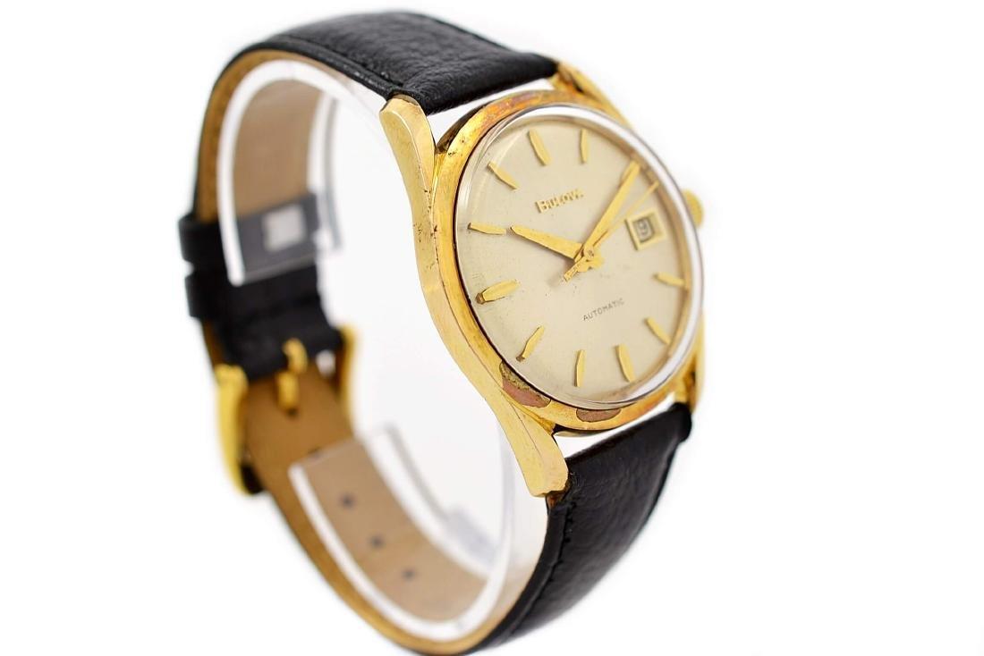 Bulova Classic Automatic Midsize Gold Plated Watch - 2
