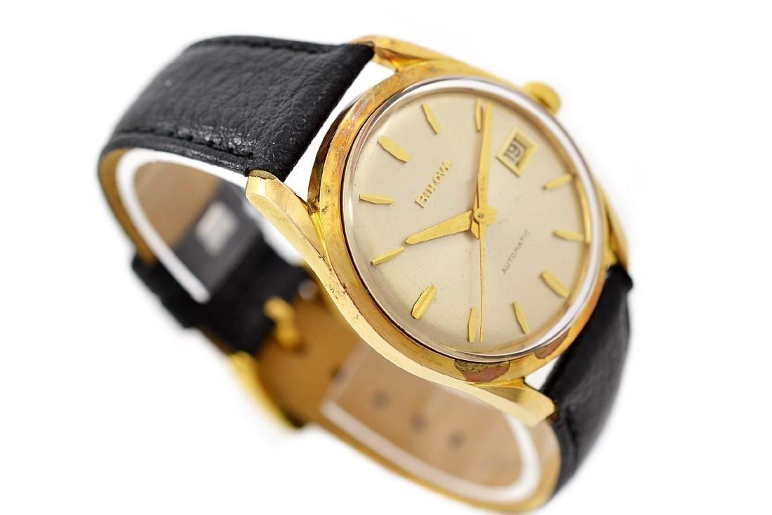 Bulova Classic Automatic Midsize Gold Plated Watch - 3