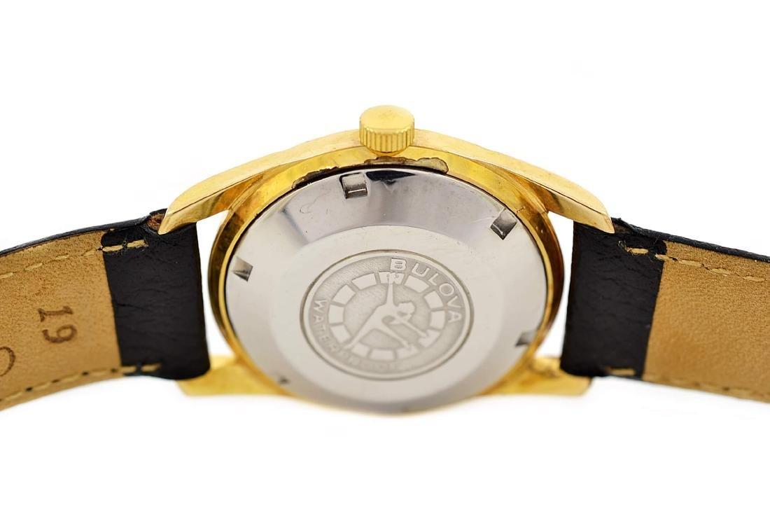 Bulova Classic Automatic Midsize Gold Plated Watch - 4