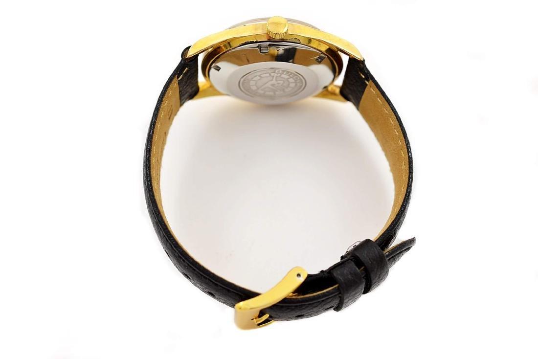 Bulova Classic Automatic Midsize Gold Plated Watch - 5