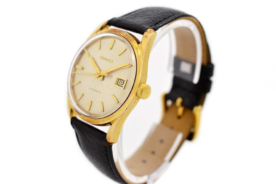 Bulova Classic Automatic Midsize Gold Plated Watch - 7