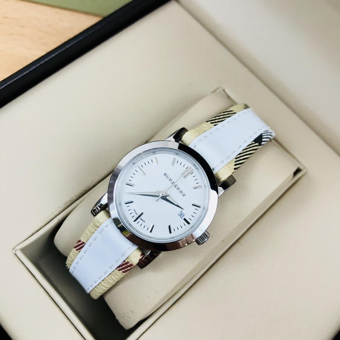 Burberry Swiss Made Classic Ladies Watch - 2
