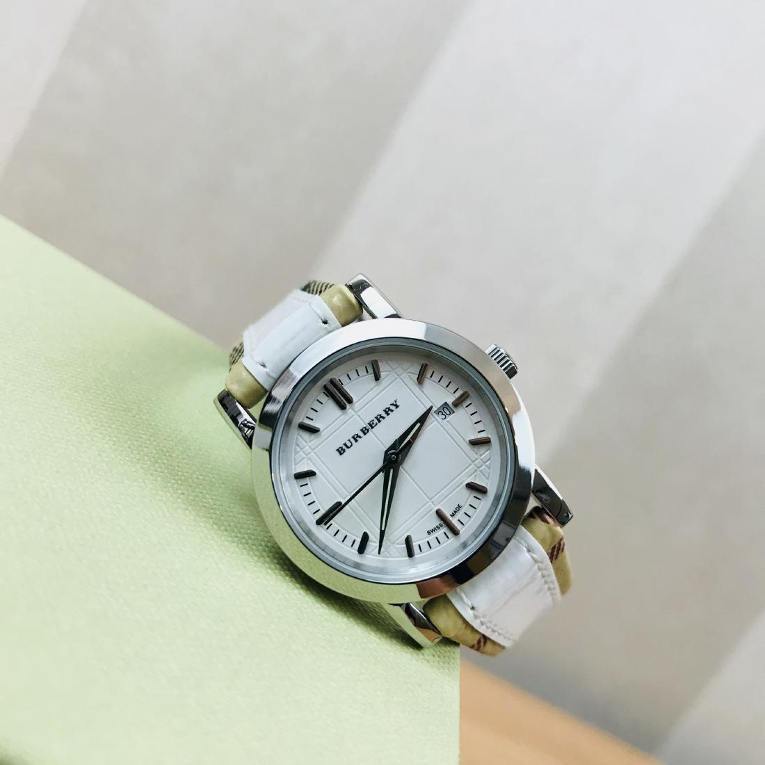 Burberry Swiss Made Classic Ladies Watch - 3