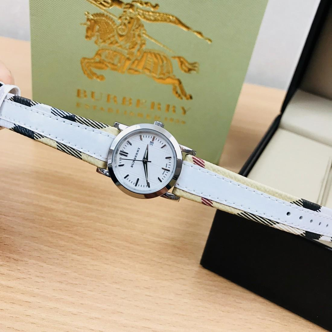 Burberry Swiss Made Classic Ladies Watch - 8