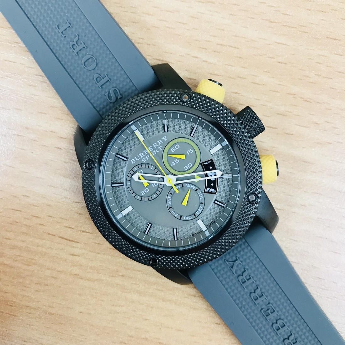 Burberry Endurance Swiss Made Men's Chronograph Watch