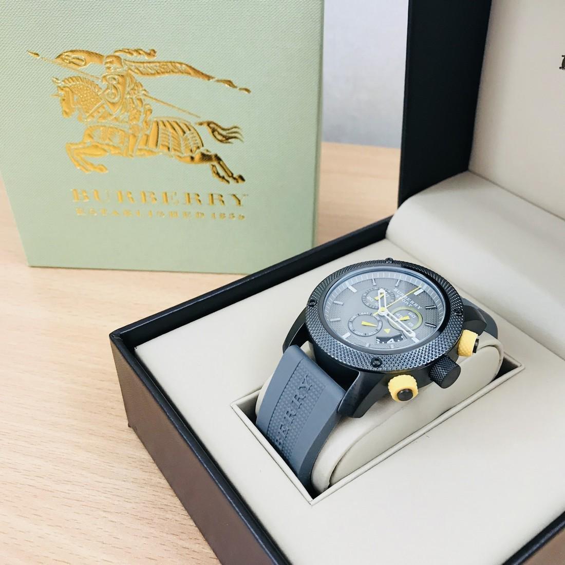 Burberry Endurance Swiss Made Men's Chronograph Watch - 2