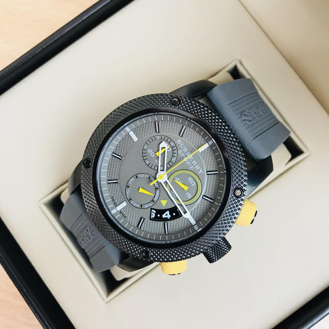 Burberry Endurance Swiss Made Men's Chronograph Watch - 3