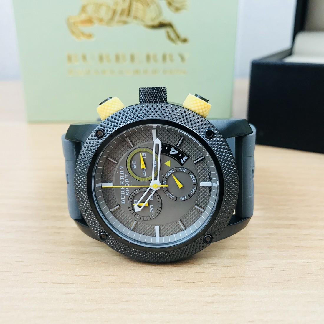 Burberry Endurance Swiss Made Men's Chronograph Watch - 4