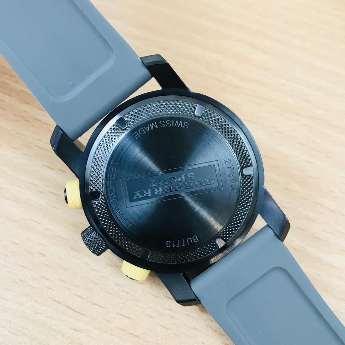 Burberry Endurance Swiss Made Men's Chronograph Watch - 9