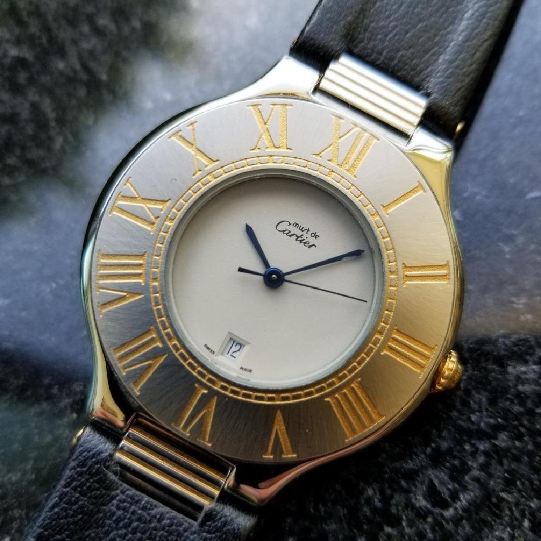 Cartier Must de Cartier 21 34mm c2000 Swiss Luxury Mens
