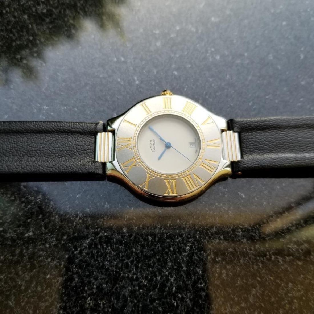 Cartier Must de Cartier 21 34mm c2000 Swiss Luxury Mens - 5