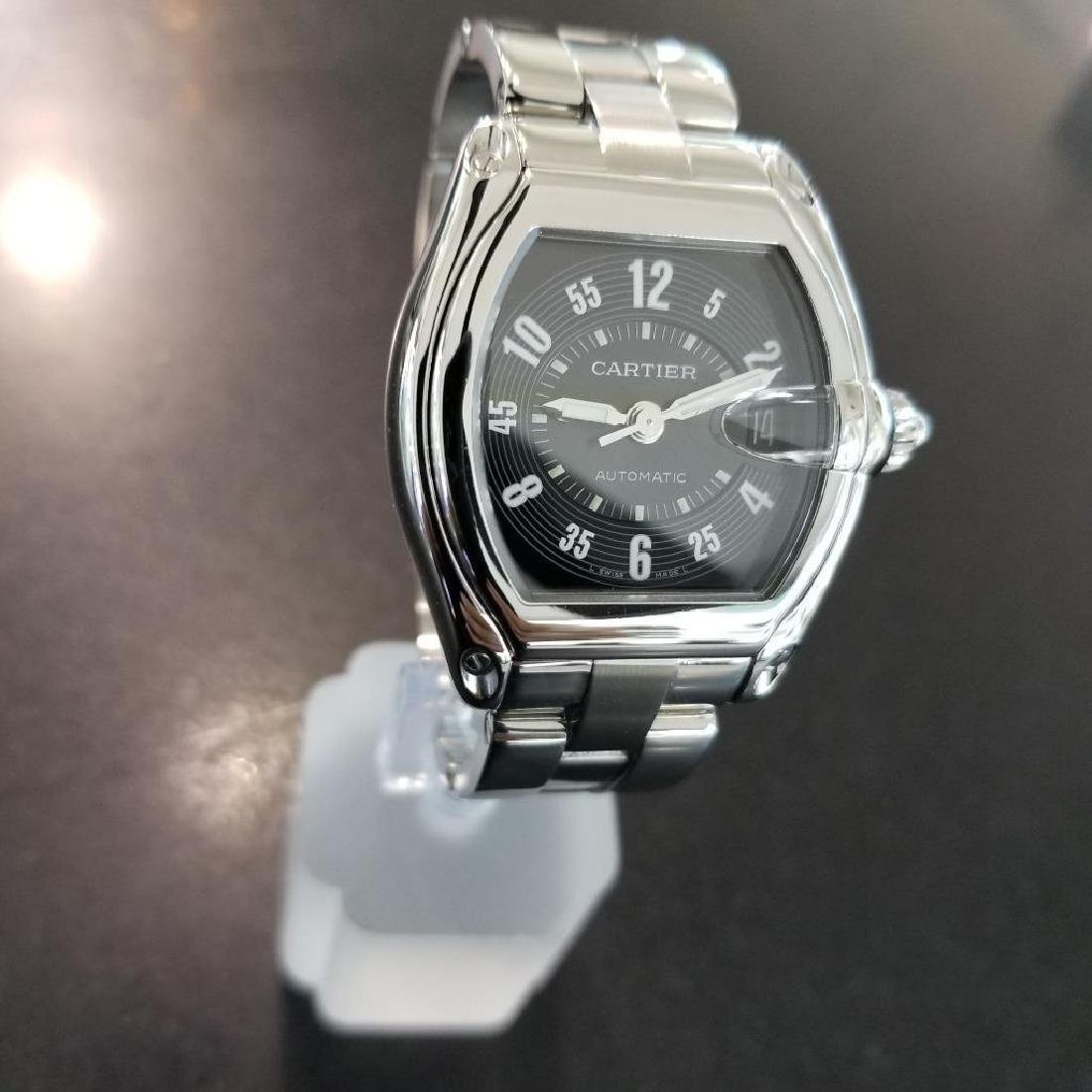 Cartier Roadster Mens Automatic Stainless 38mm Date - 4