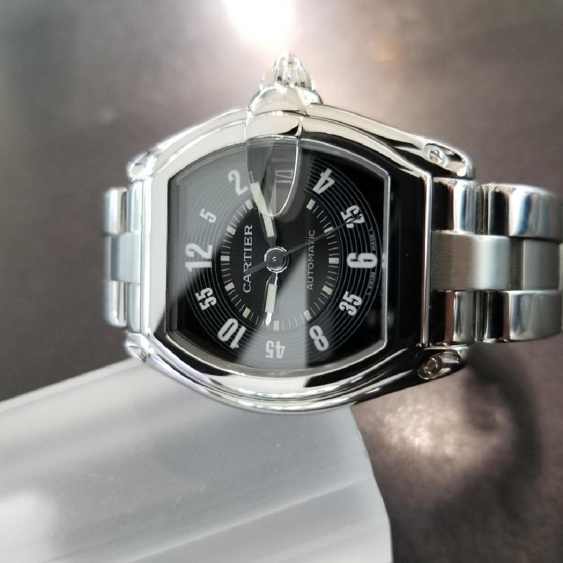 Cartier Roadster Mens Automatic Stainless 38mm Date - 5