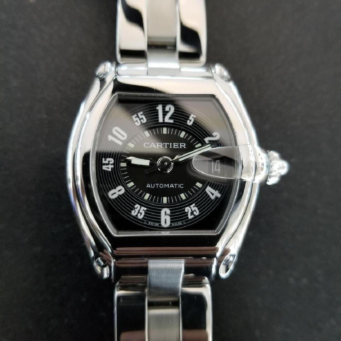 Cartier Roadster Mens Automatic Stainless 38mm Date - 6