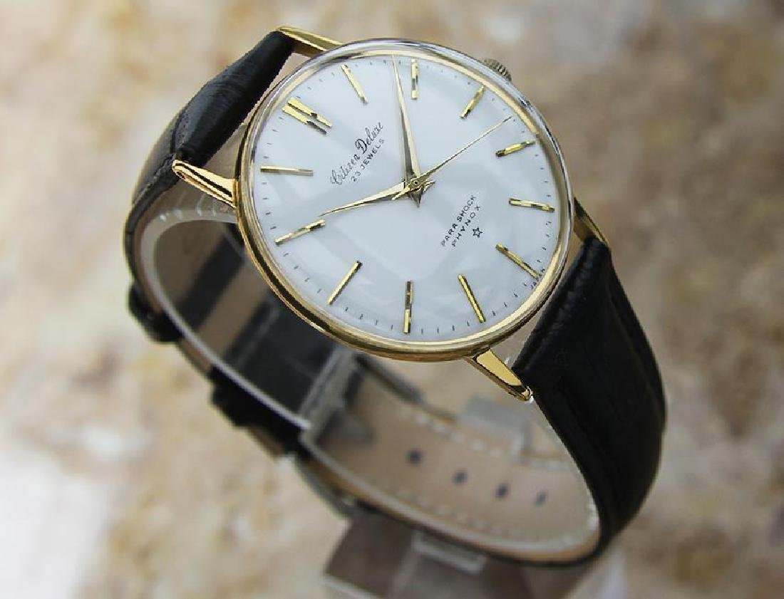 Citizen DeLuxe 1960s Mens Classic Gold Plated Manual - 3