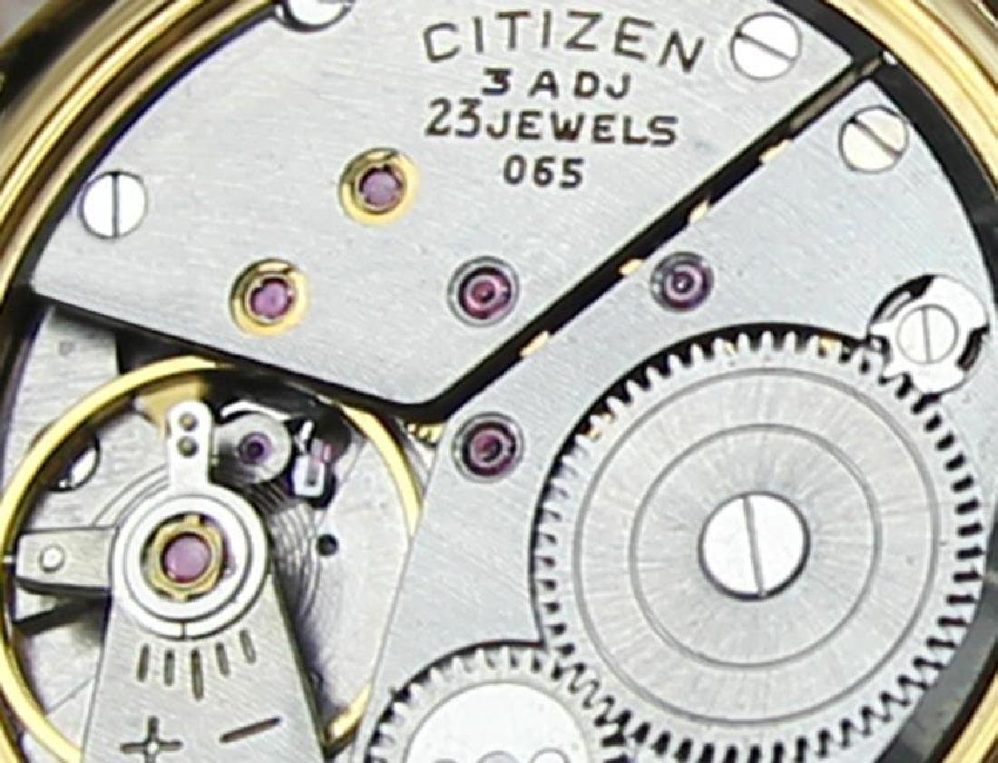 Citizen DeLuxe 1960s Mens Classic Gold Plated Manual - 8