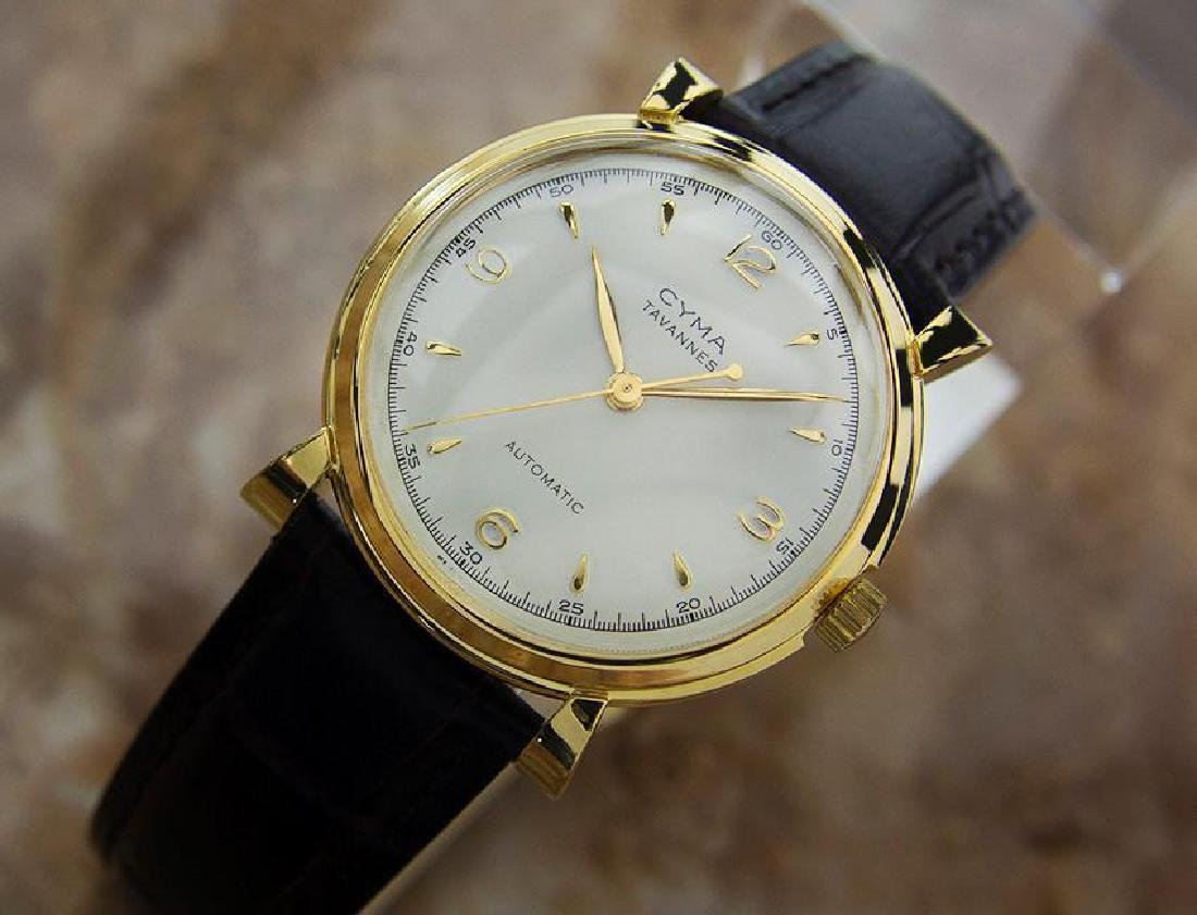 Cyma Swiss Made Bumper 33mm Automatic 1960s Vintage - 2