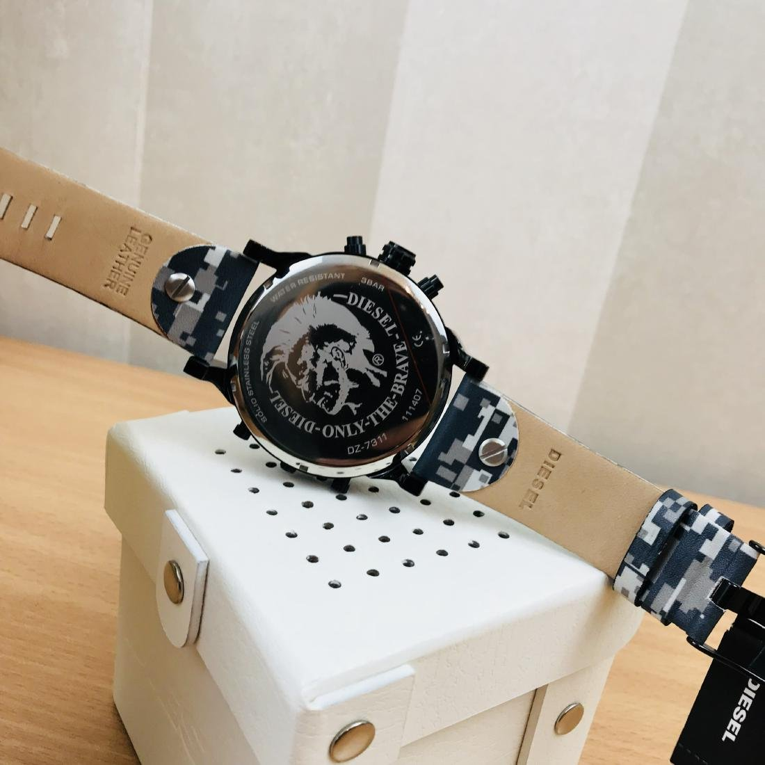 Diesel – Mr. Daddy 2.0 Big Camo Watch - 4