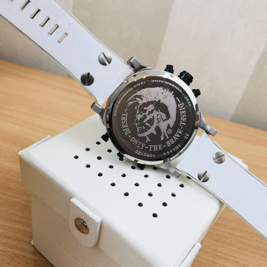 Diesel – Mr. Daddy 2.0 Big White Watch - 4