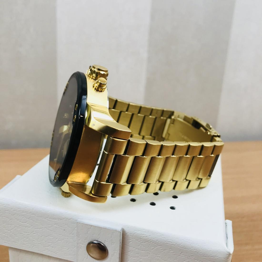 Diesel – Mr. Daddy 2.0 Big Gold Plated Watch - 2