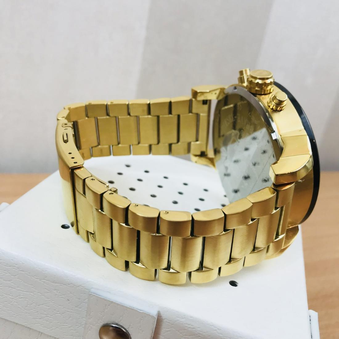 Diesel – Mr. Daddy 2.0 Big Gold Plated Watch - 5