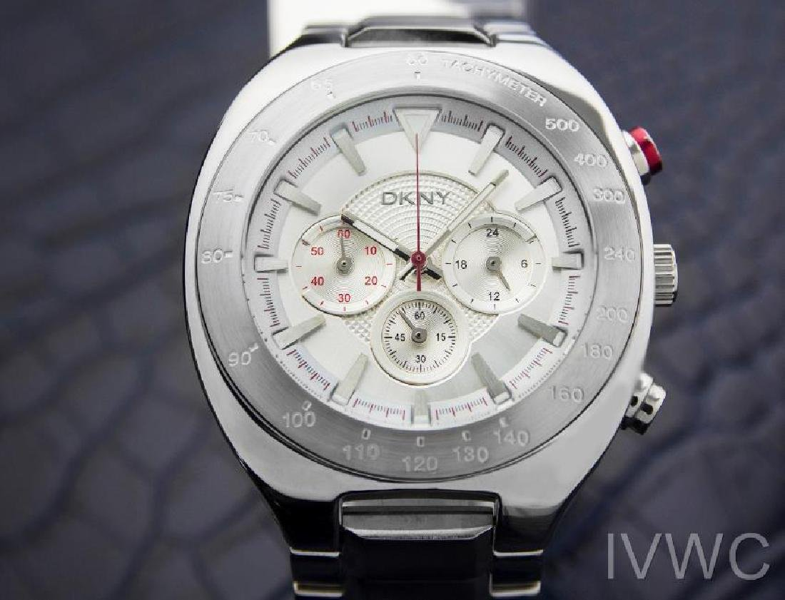 DKNY Large Mens 44mm Chronograph Quartz Watch NY1361