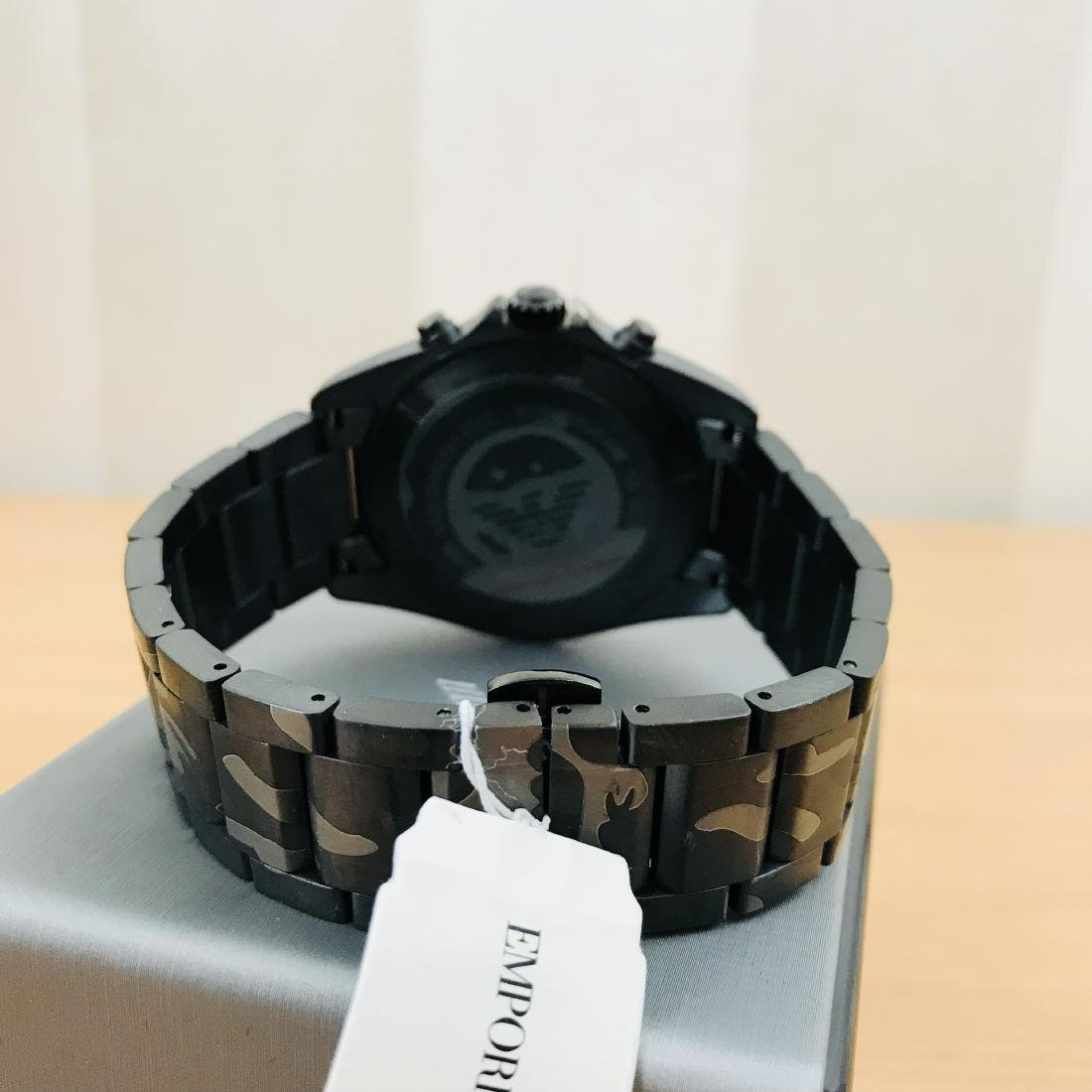 Emporio Armani – Camouflage-print Chronograph Watch - 4