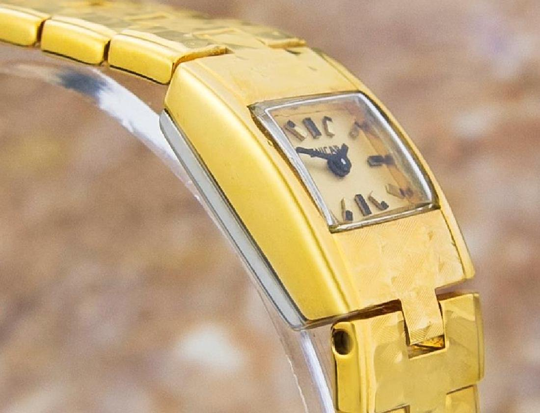 Enicar Vintage Rare Swiss Lady Gold Plated Manual - 6