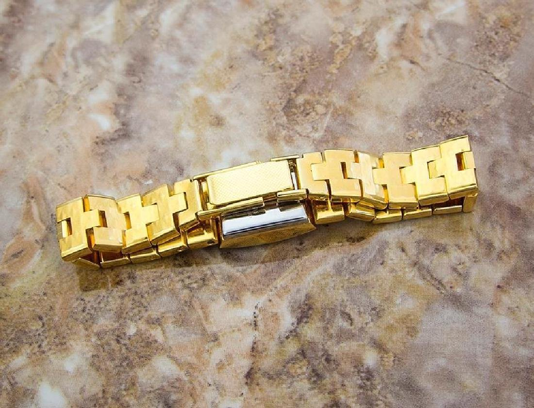 Enicar Vintage Rare Swiss Lady Gold Plated Manual - 8