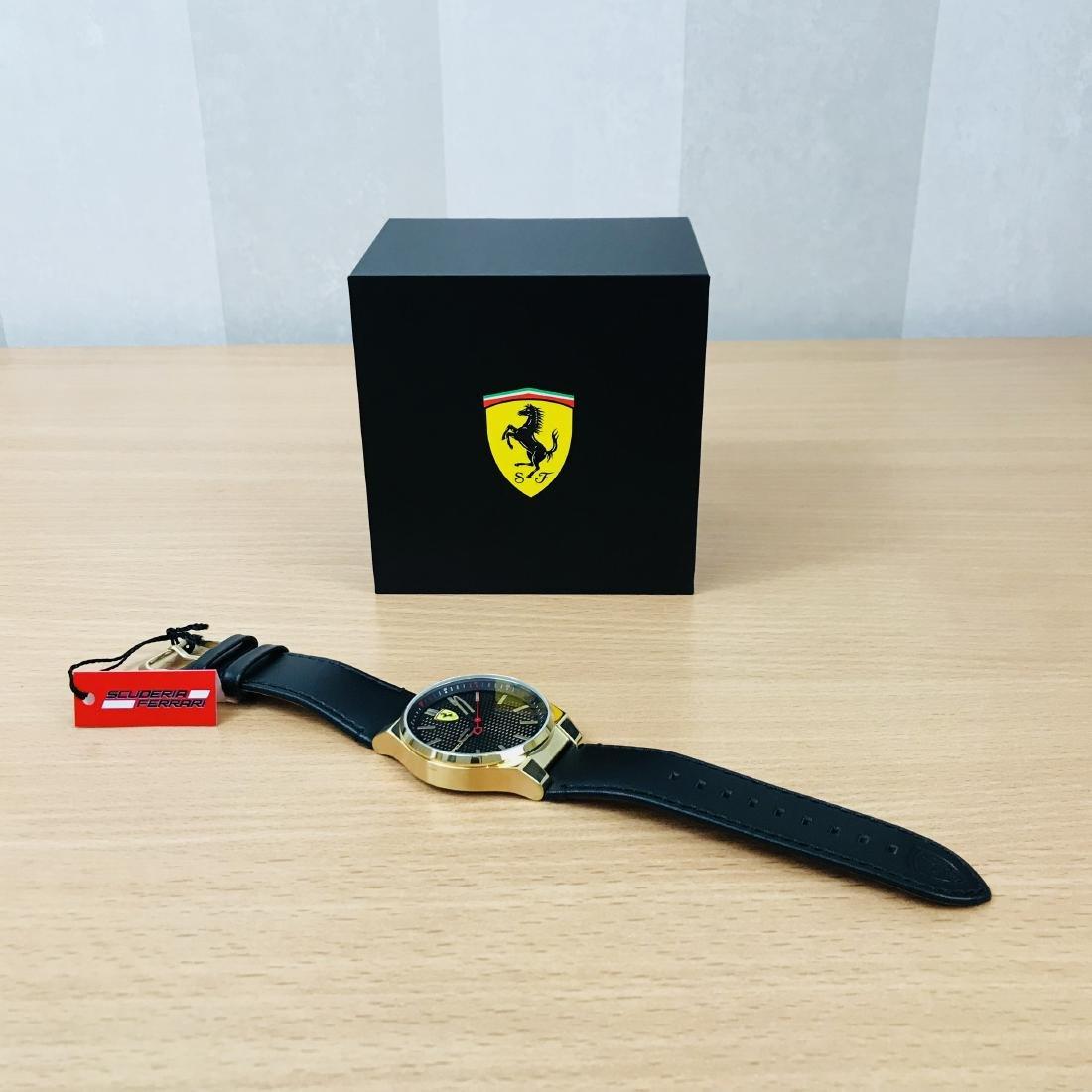 Scuderia Ferrari – SPECIALE Men's Gold Plated Watch - 10