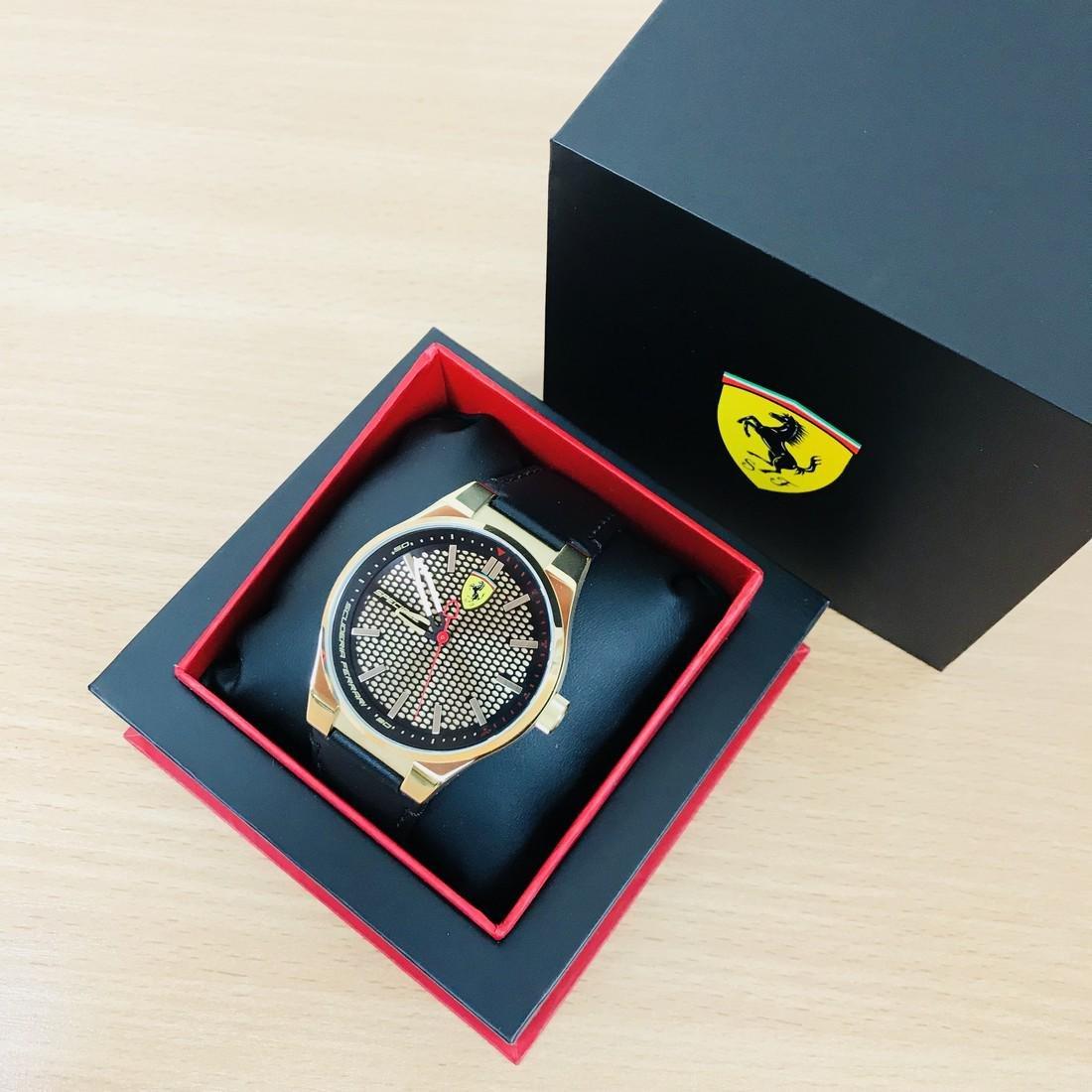 Scuderia Ferrari – SPECIALE Men's Gold Plated Watch - 2