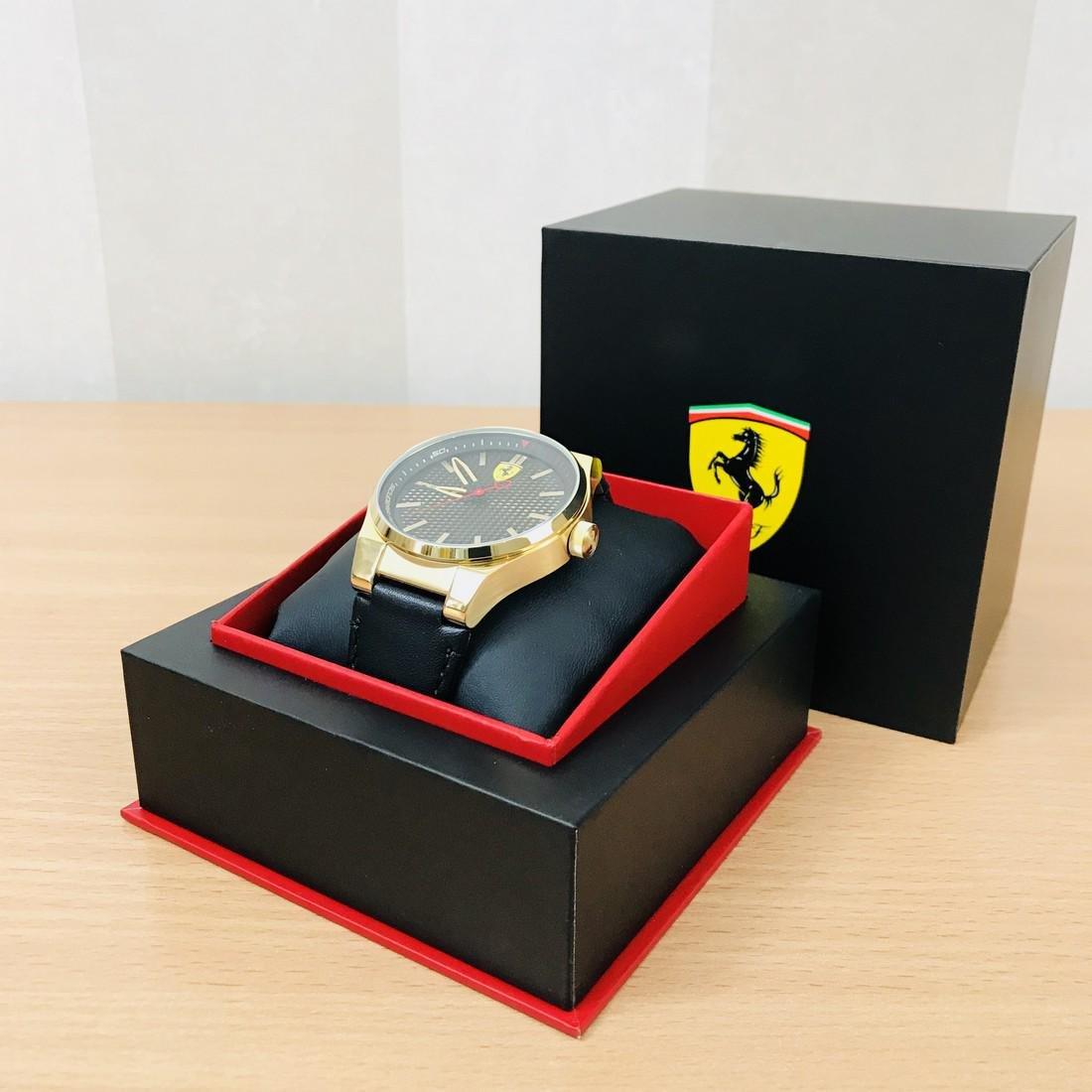 Scuderia Ferrari – SPECIALE Men's Gold Plated Watch - 3