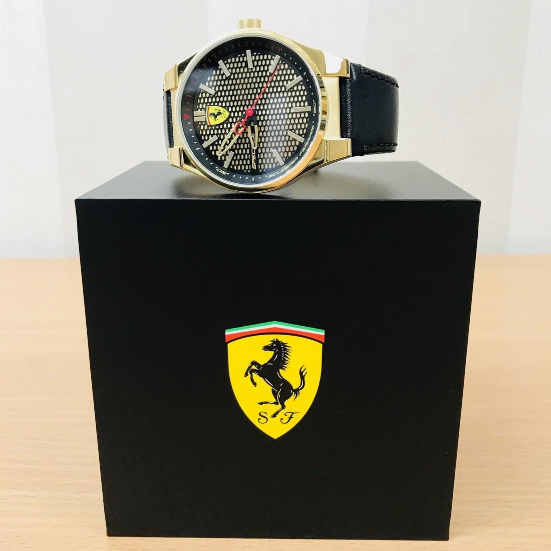 Scuderia Ferrari – SPECIALE Men's Gold Plated Watch - 4