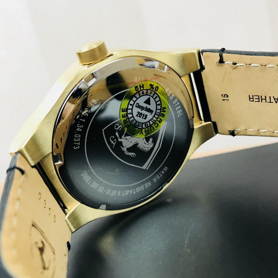 Scuderia Ferrari – SPECIALE Men's Gold Plated Watch - 7