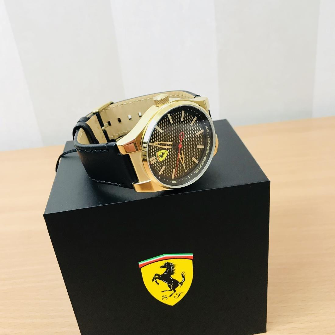 Scuderia Ferrari – SPECIALE Men's Gold Plated Watch - 8